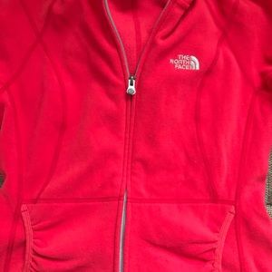 Small north face sweater